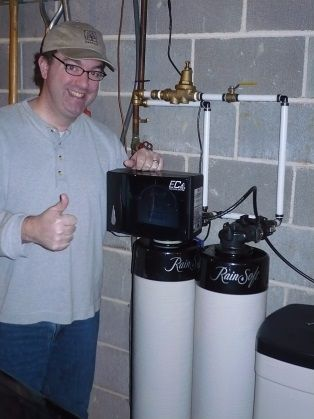 Happy Customer with New Whole House Carbon Filtration System